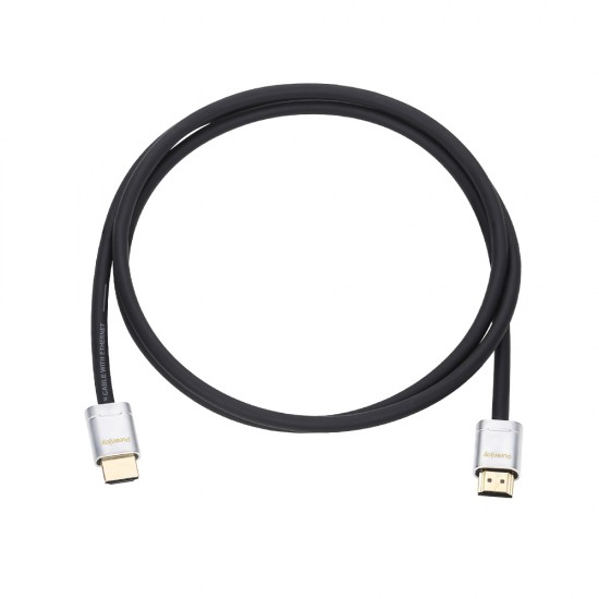 HDMI Cable (Silver,1.5 m, Black)