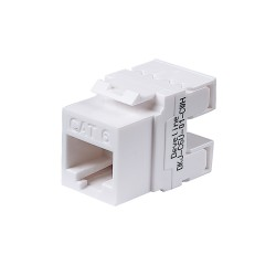 Cat6 Unshielded keystone jack(black)