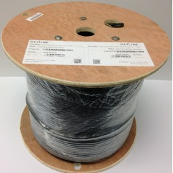 Cat5E Unshielded Outdoor Network Cable PE 305m Black