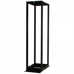4 Post Rack - 45U 19in wide 29in deep Steel Square