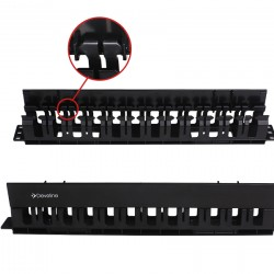 1U Horizontal Cable Management-Plastic