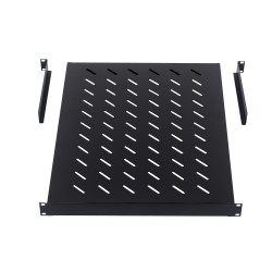 Front mount Universal shelf for 1000mm deep Cabinet/Rack - DavisTech
